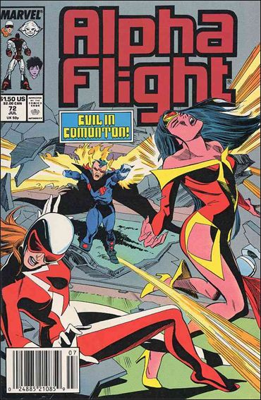 Alpha Flight (1983) 72-A by Marvel