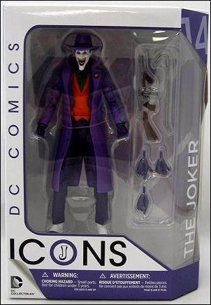 DC Icons The Joker by DC Collectibles