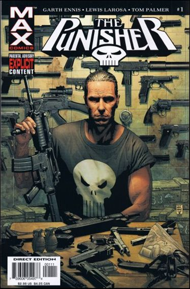 Punisher (2004) 1-A by Max