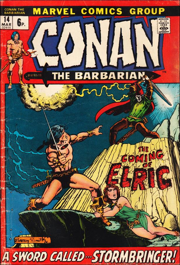 Conan the Barbarian (1970) 14-B by Marvel