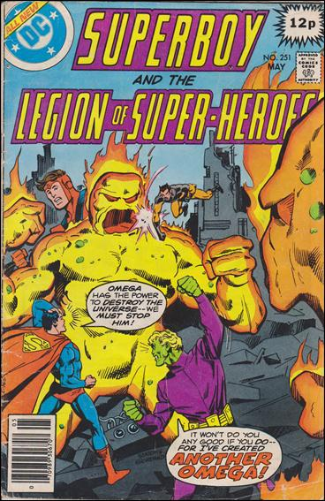Superboy and the Legion of Super-Heroes 251-C by DC