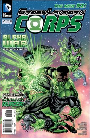 Green Lantern Corps (2011) 9-A