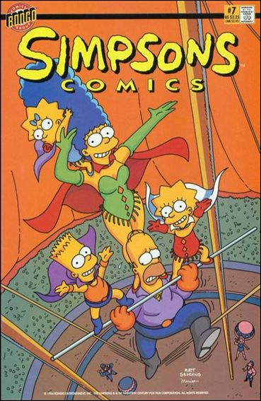 Simpsons Comics 7-A by Bongo