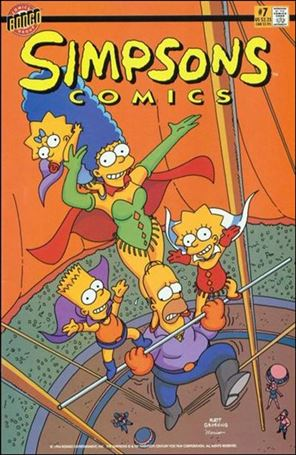 Simpsons Comics 7-A