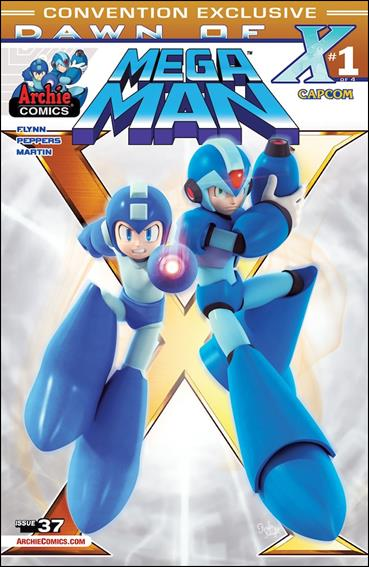 Mega Man 37-D by Archie