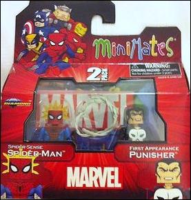 Marvel Minimates (Exclusives) Spider Sense Spider-Man & 1st Appearance Punisher by Diamond Select