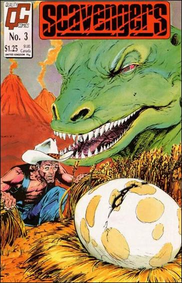 Scavengers (1988) 3-A by Quality Comics