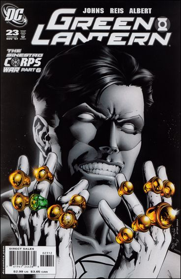 Green Lantern (2005) 23-B by DC
