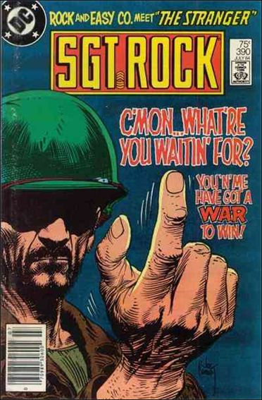 Sgt. Rock (1977) 390-A by DC