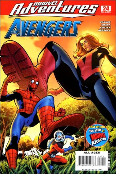 Marvel Adventures The Avengers 24-A by Marvel