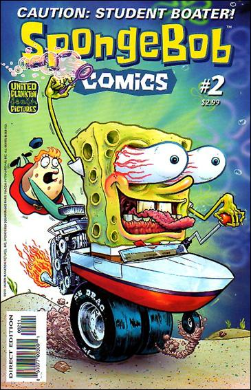 SpongeBob Comics 2-A by United Plankton Pictures