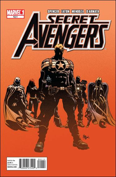 Secret Avengers (2010) 12.1-A by Marvel