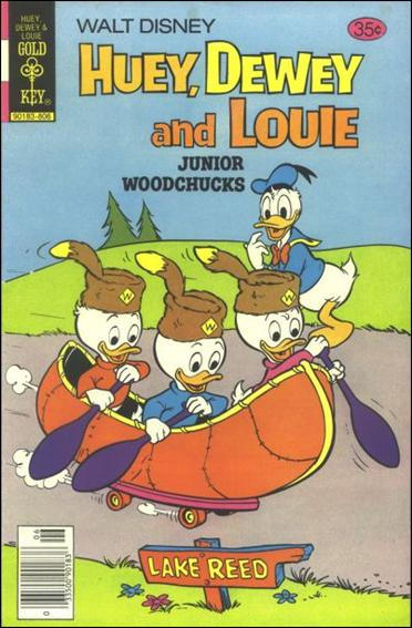 Walt Disney Huey, Dewey and Louie: Junior Woodchucks  50-A by Gold Key