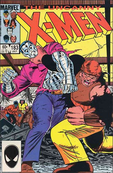 Uncanny X-Men (1981) 183-A by Marvel