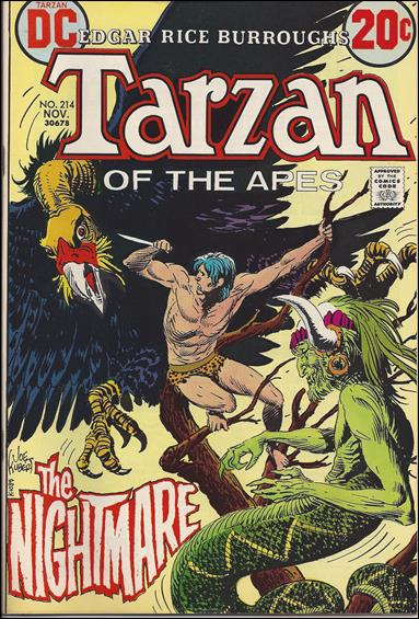 Tarzan (1972) 214-A by DC