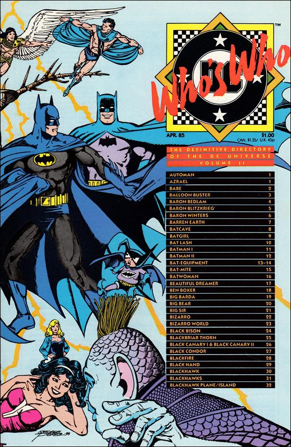 Who's Who: The Definitive Directory of the DC Universe 2-A by DC