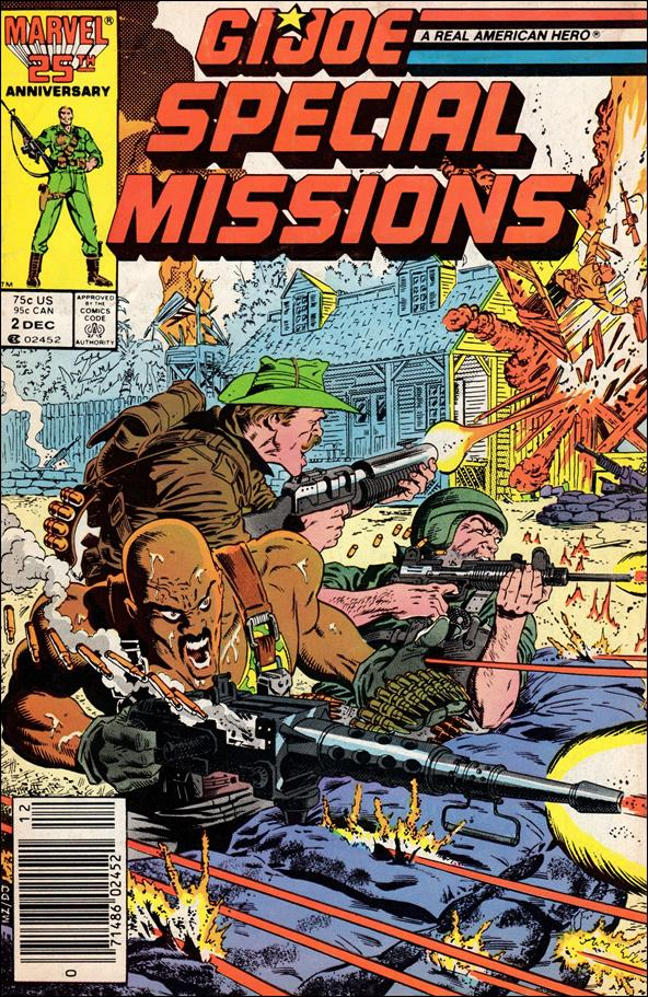 G.I. Joe: Special Missions (1986) 2-A by Marvel