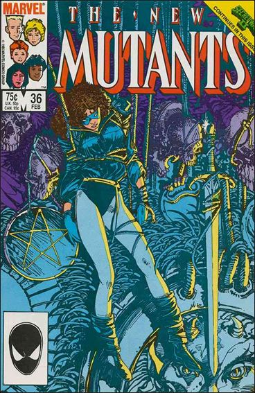 New Mutants (1983) 36-A by Marvel