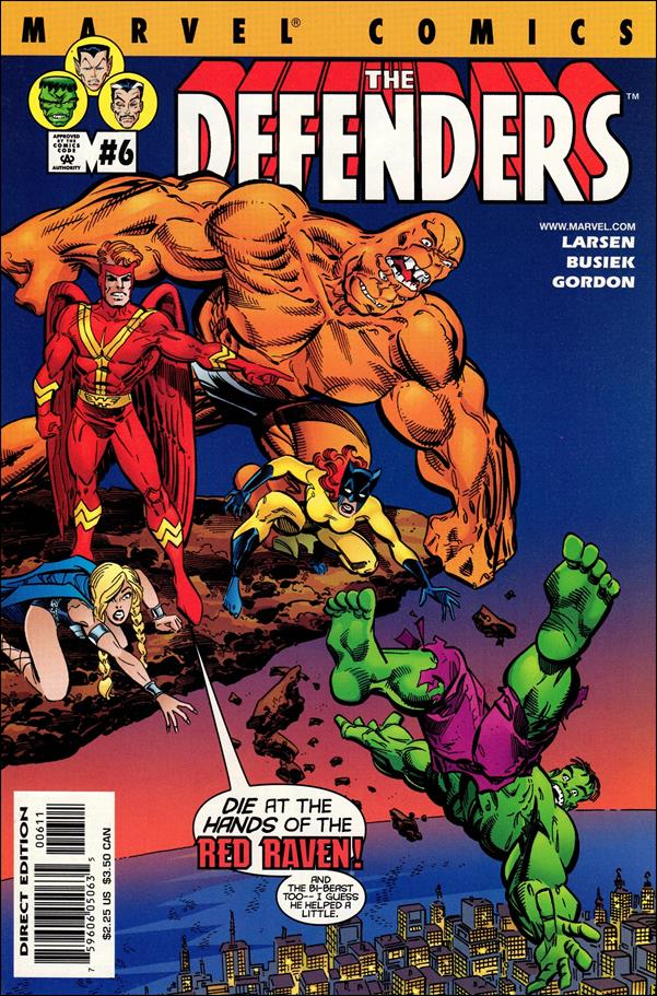 Defenders (2001) 6-A by Marvel
