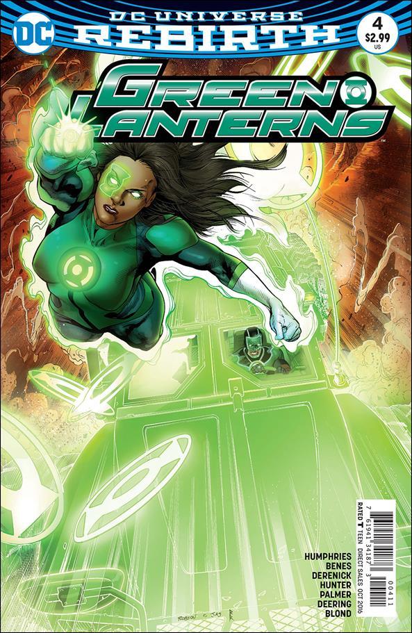 Green Lanterns 4-A by DC