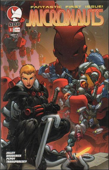 Micronauts (2004) 1-B by Devil's Due