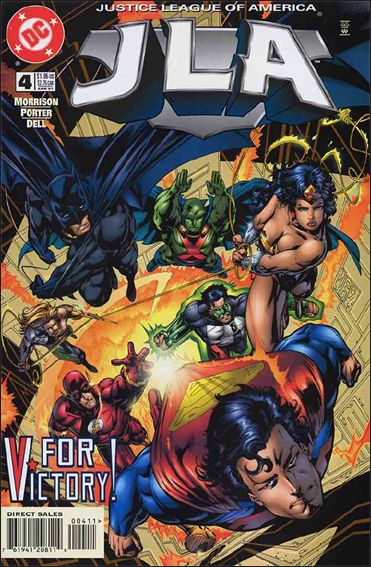 JLA 4-A by DC