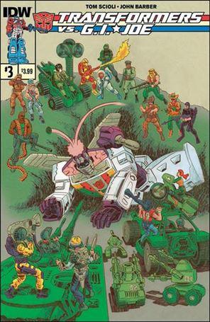 Transformers vs. G.I. Joe 3-A
