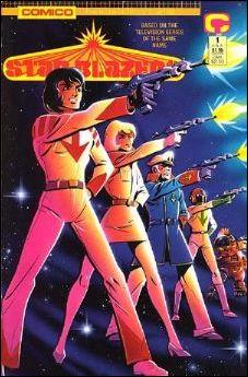 Star Blazers (1989) 1-A by Comico