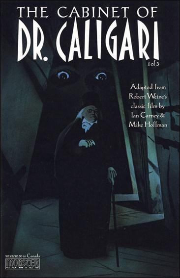 Cabinet of Dr. Caligari 1-A by Monster Comics