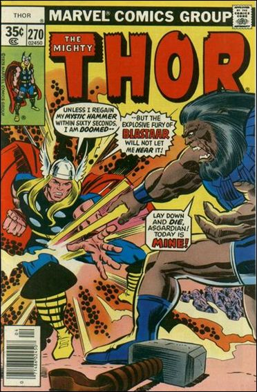 Thor (1966) 270-A by Marvel