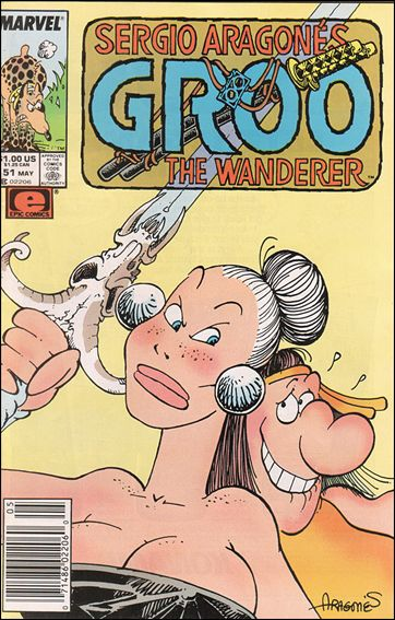 Sergio Aragones Groo the Wanderer 51-A by Epic
