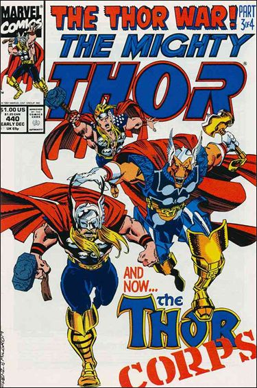 Thor (1966) 440-A by Marvel