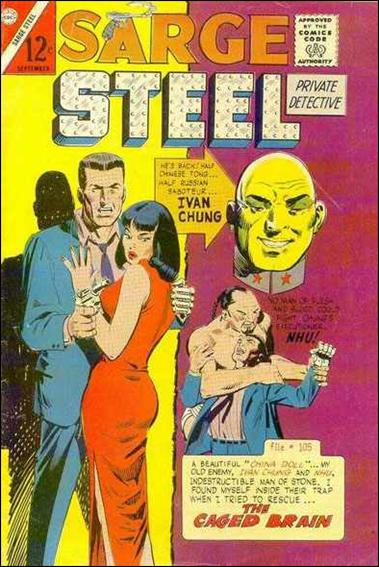 Sarge Steel 5-A by Charlton