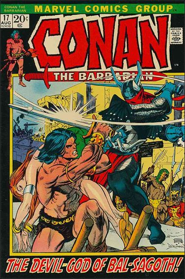 Conan the Barbarian (1970) 17-A by Marvel