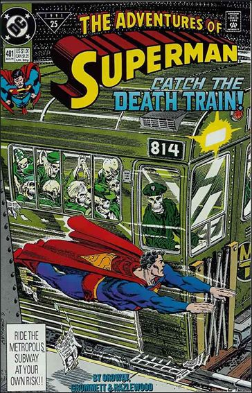 Adventures of Superman (1987) 481-A by DC