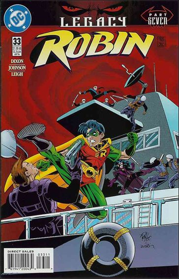 Robin (1993) 33-A by DC