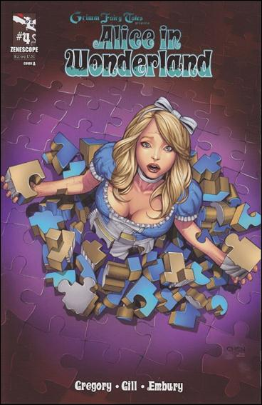 Grimm Fairy Tales Presents Alice in Wonderland 4-A by Zenescope Entertainment