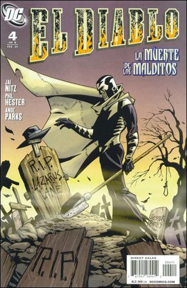 El Diablo (2008) 4-A by DC