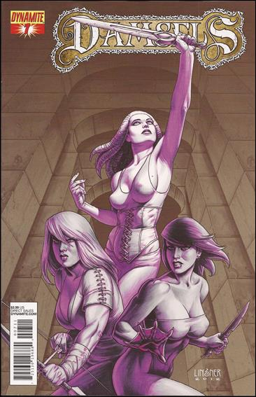 Damsels 7-A by Dynamite Entertainment