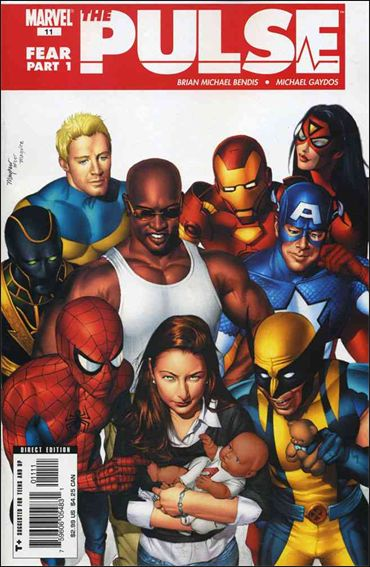 Pulse (2004) 11-A by Marvel