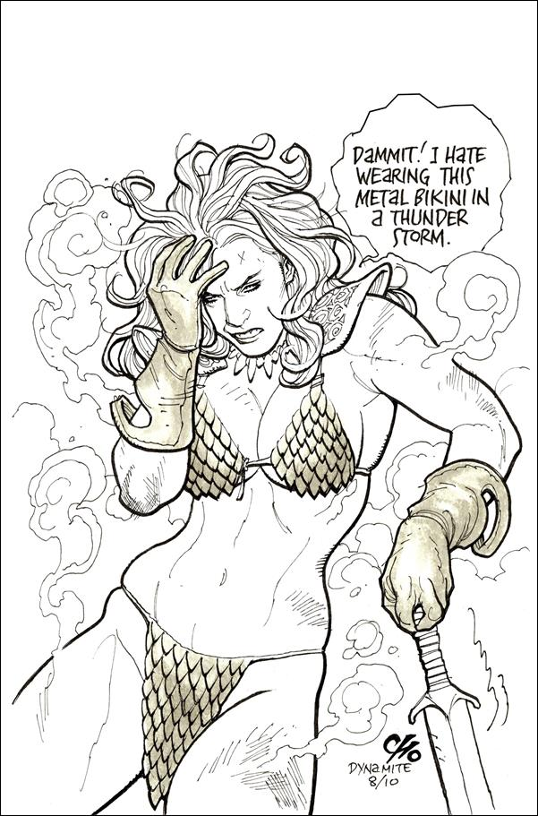 Invincible Red Sonja 4-M by Dynamite Entertainment