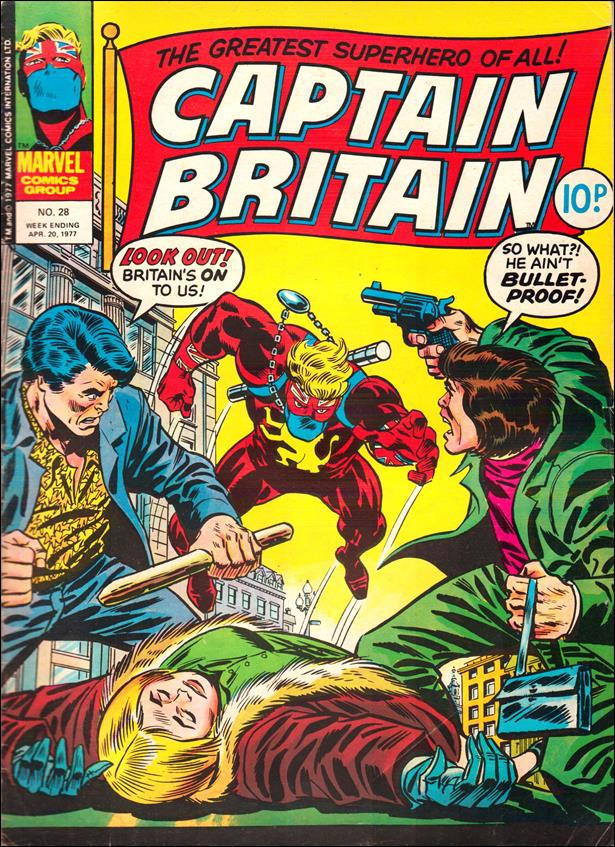 Captain Britain (UK) (1976) 28-A by Marvel UK