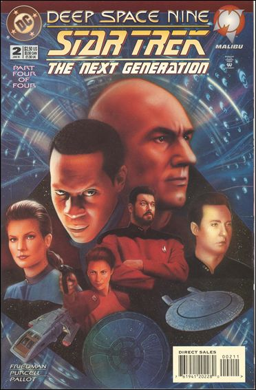 Star Trek: The Next Generation/Star Trek: Deep Space Nine 2-A by DC