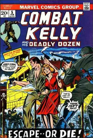 Combat Kelly (1972) 5-A by Marvel