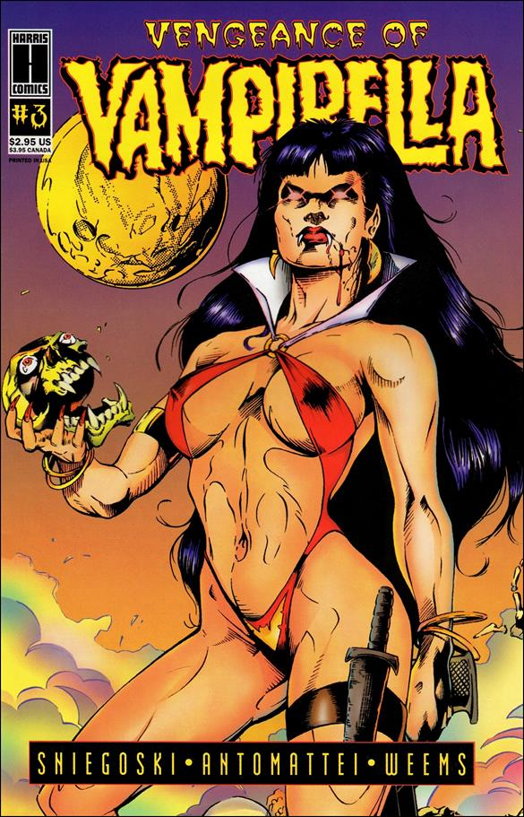 Vengeance of Vampirella 3-A by Harris