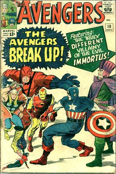 Avengers (1963) 10-A by Marvel