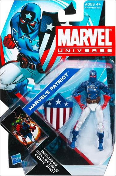 Marvel Universe (Series 4) Marvel's Patriot by Hasbro