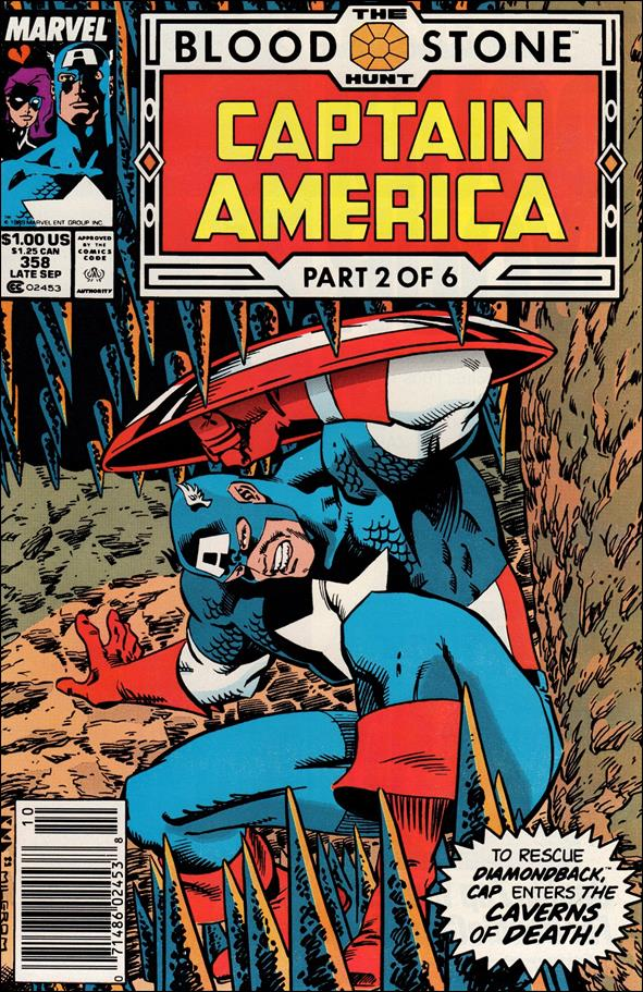 Captain America (1968) 358-A by Marvel
