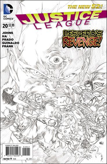 Justice League (2011) 20-E by DC