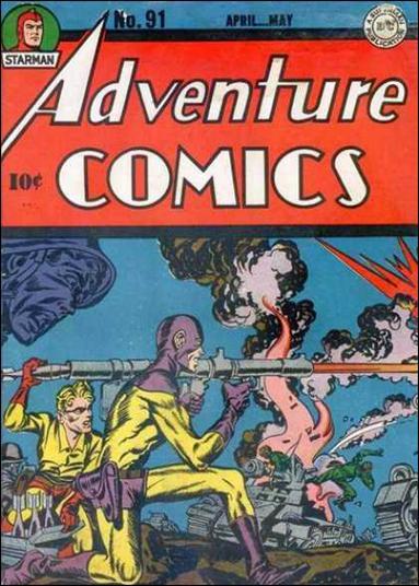 Adventure Comics (1938) 91-A by DC